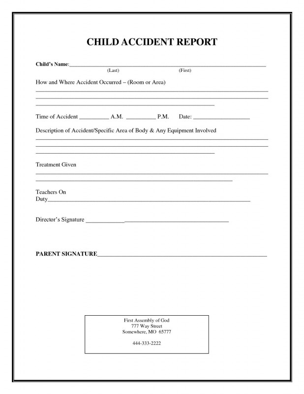 Generic Incident Report Template Professional Police Incident Report forms Templates Templates 121412 Resume