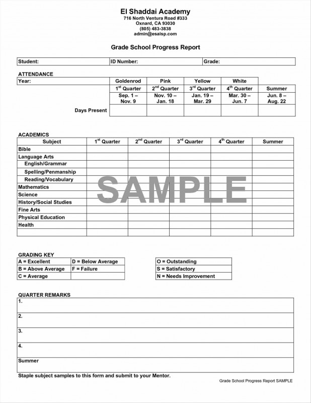 Homeschool Report Card Template Middle School New 024 Middle School Report Card Template Ideas Unique Inspirational
