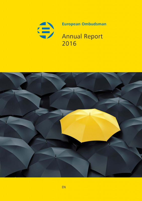 Hr Annual Report Template Awesome Annual Report European Ombudsman