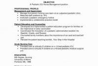 Icu Report Template Awesome Resume for Nurses Job Sample Sample Icu Nurse Resume Nurse Resume