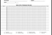 Incident Report Book Template New Monthly attendance Sheet Templates Excel Xlts Rent Receipt Xlts