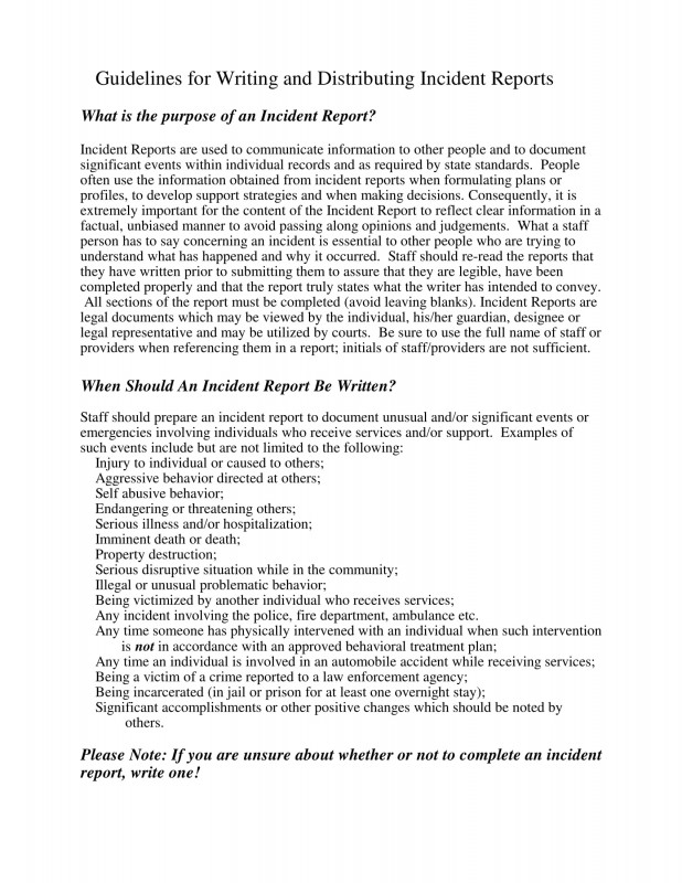 Incident Report form Template Word Unique Sample Incident Report Letter Letter Bestkitchenview Co