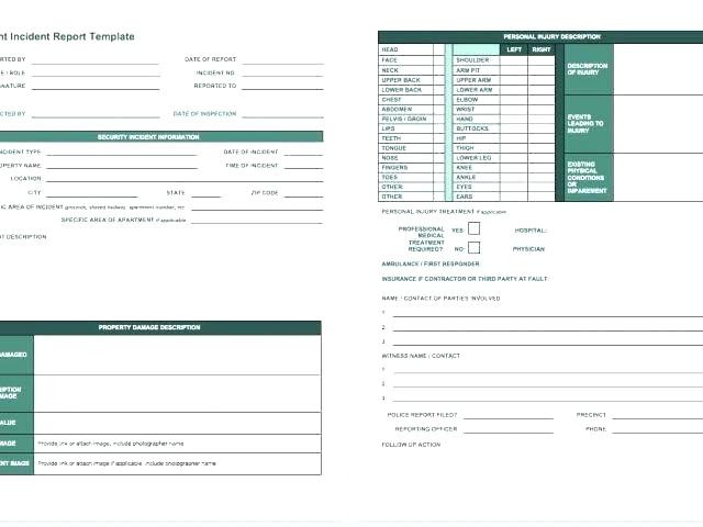 Incident Report Template Itil Professional Technical Incident Report Template