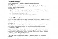 Incident Report Template Microsoft Awesome Example Of Incident Report Letter for Security Guard format Bitwrk Co