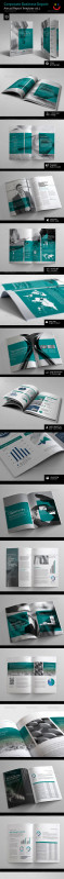 Ind Annual Report Template New Corporate Annual Report Vol 4 By Thinqueber Graphicriver
