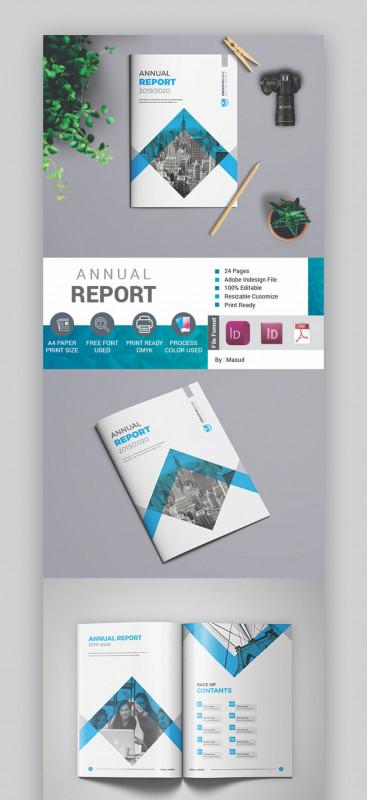 Ind Annual Report Template Unique 003 Free Annual Report Template Ideas Blue Unique School Ppt