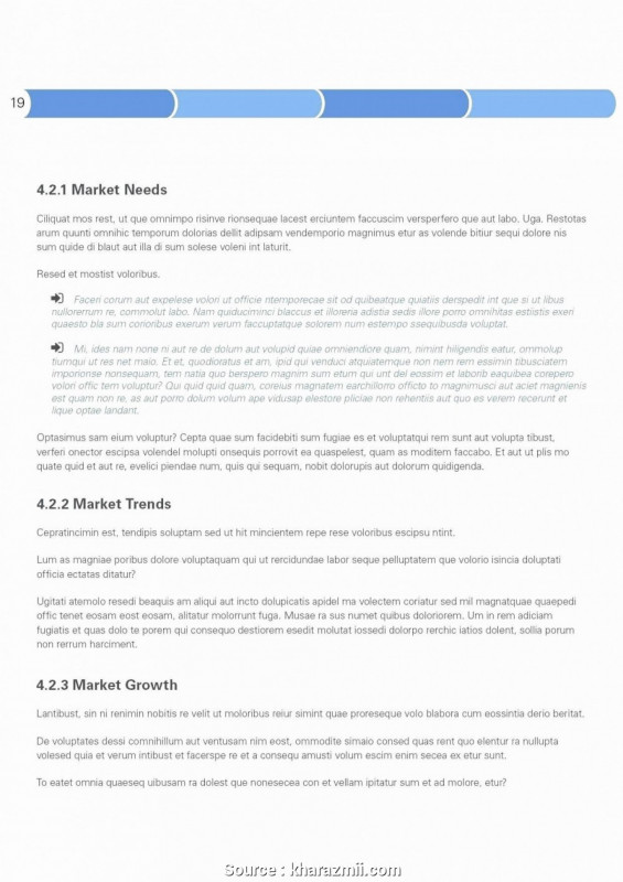 Industry Analysis Report Template Unique 018 Sales Letters Photo1 Simple Marketing Plan Frightening format