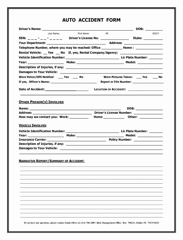 Insurance Incident Report Template Awesome 002 Accident Report form Template Uk Of Motor Vehicle Choice Image