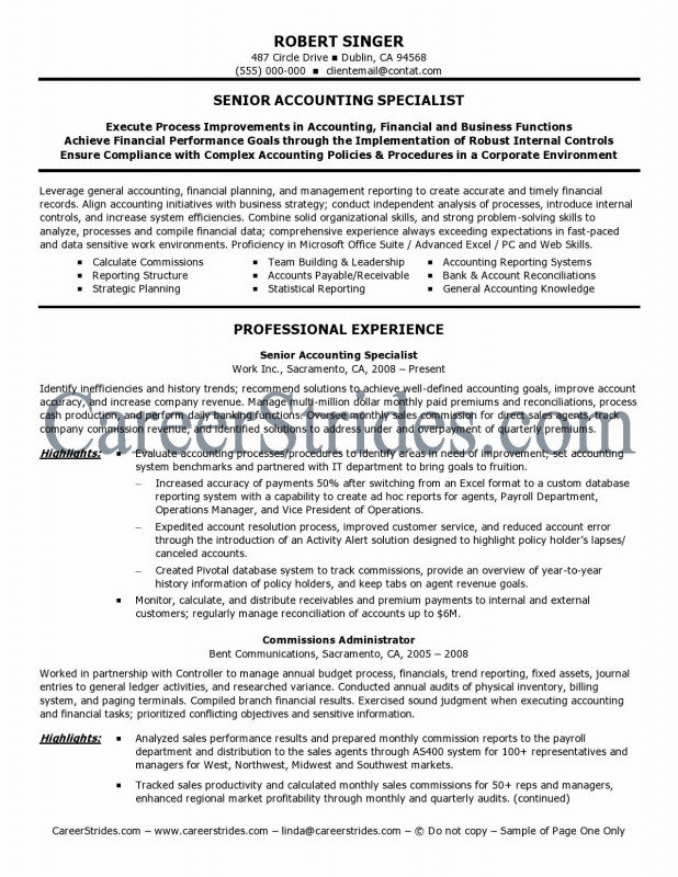 Internal Control Audit Report Template Unique 100 Senior Accountant Resume Objective Accounting Resume Help Top
