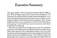 Investigation Report Template Disciplinary Hearing New 4 Executive Summary Entry and Competition In the U S Airline