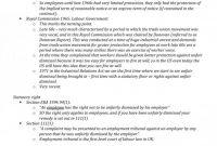 Investigation Report Template Disciplinary Hearing New Labour Law Unfair Dismissal M100 Law Studocu