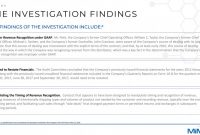 Investigation Report Template Disciplinary Hearing Professional Ex 99 2