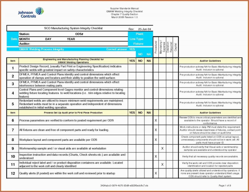 Iso 9001 Internal Audit Report Template Professional New Iso 9001 Templates Free Download Best Of Template