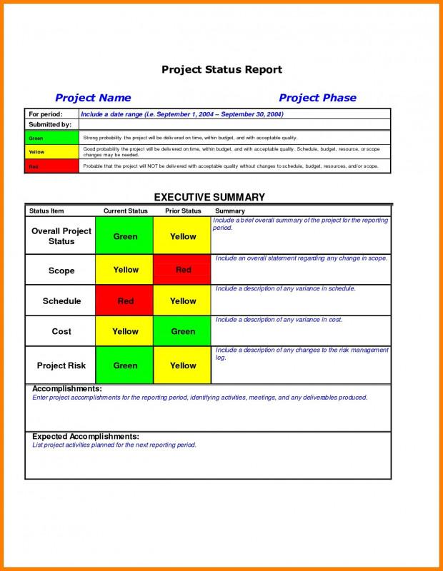 It Management Report Template Unique Portfolio Management Reporting Templates Ghabon org