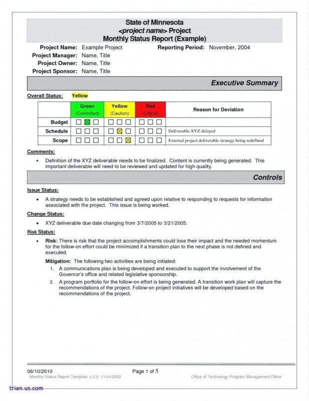 It Management Report Template Unique Project Management Template Sample Ukashturka T Example Pdf Smorad