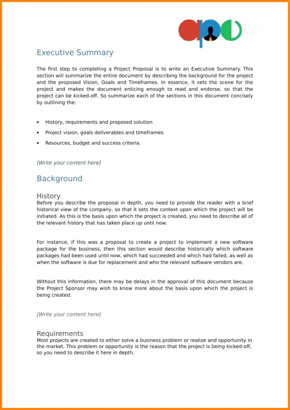 It Report Template For Word Awesome 011 Template Ideas Project Summary Pics Free Powerpointproject Excel