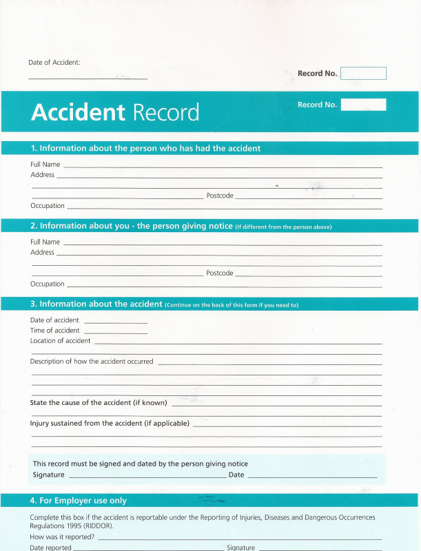 Itil Incident Report Form Template Awesome Health Club Incident Report Form Thor Ciceros Co