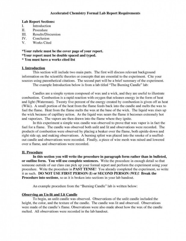 Lab Report Conclusion Template Awesome 025 Lab Reportate Word Conclusion Example Physics Laboratory