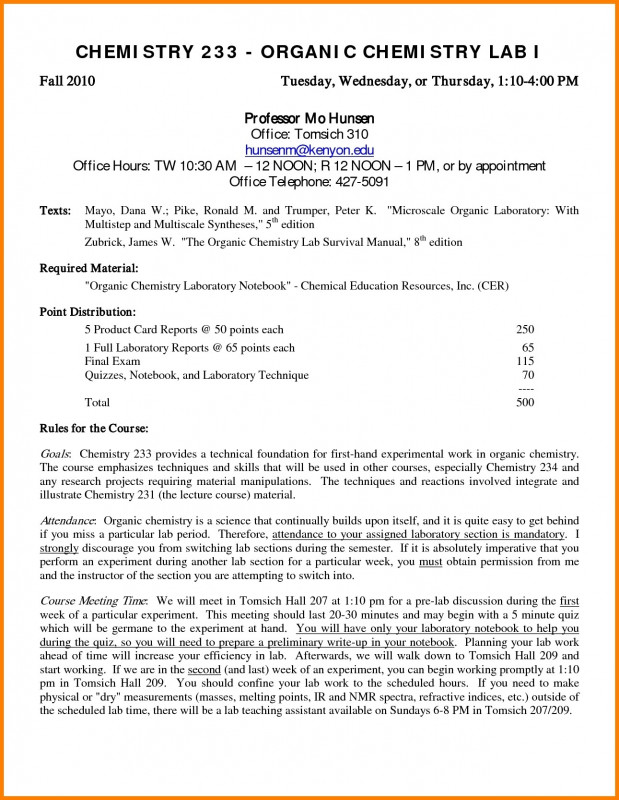 Lab Report Template Chemistry Unique Chemistry Lab Report format Example College Pdf B Template Fabulous
