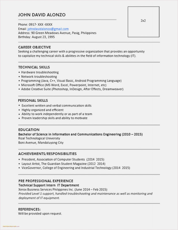 Lab Report Template Word Unique Free Download 51 Resume Templates for Word 2019 Professional