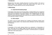 Latex Template Technical Report New Technical Report Example Tubidportal Com