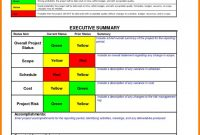 Manager Weekly Report Template Professional Project Management Project Management Report Template Project