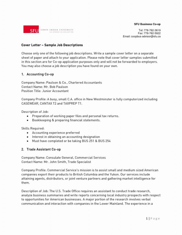 Market Intelligence Report Template Awesome Sample Resume Accounting Specialist Valid Cover Letter Temlate