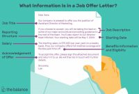 Marketing Weekly Report Template Awesome What is Included In A Job Offer Letter with Samples