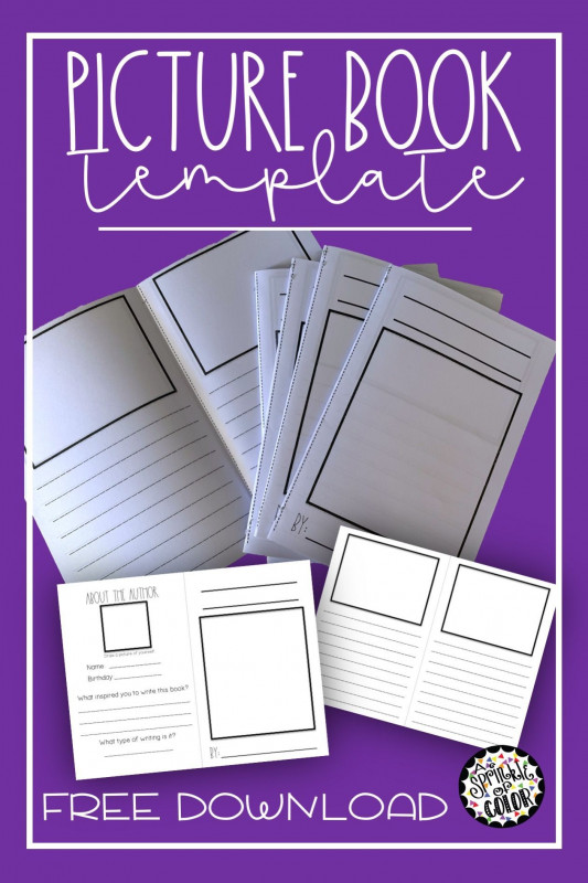 Middle School Book Report Template Unique Create A Picture Book Template Awesome Third Grade Book Report