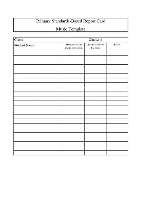 Middle School Report Card Template New High School Student Report Card ash Tree Learning Center Academy