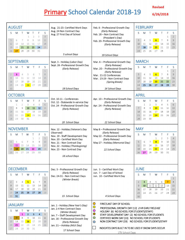 Middle School Report Card Template Professional School Year Calendars Wlwv School Calendars