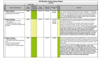 Monthly Project Progress Report Template Professional Project Management Project Management Report Template Project