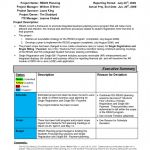 Monthly Report Template Ppt