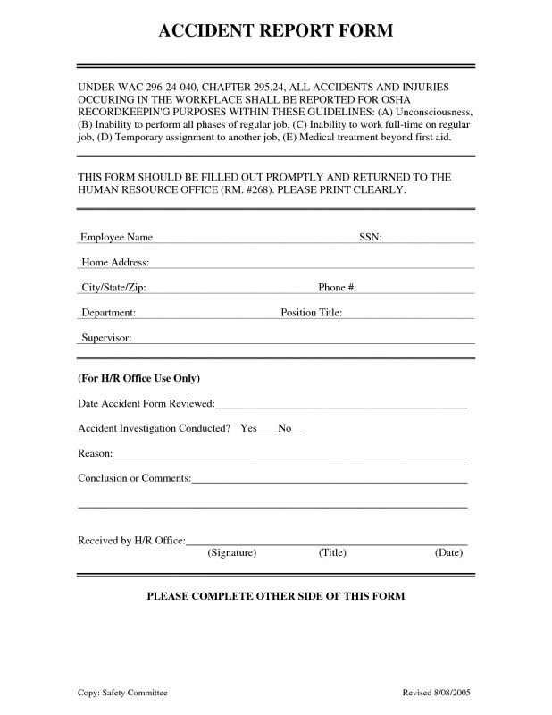 Nurse Report Sheet Templates Awesome Incident Report Sample N Workplace Template Nz form Health and