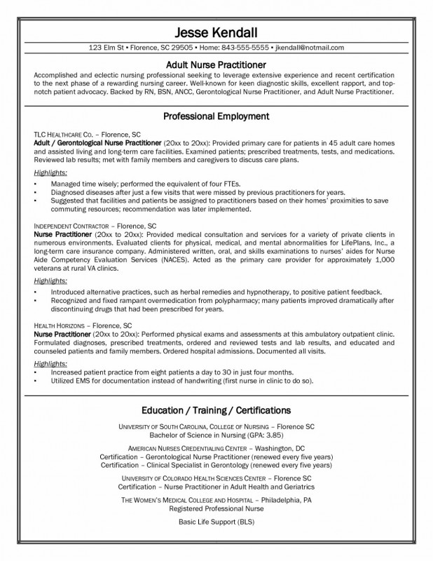 Nurse Report Template Professional 12 Experienced Rn Resume Samples Resume Database Template