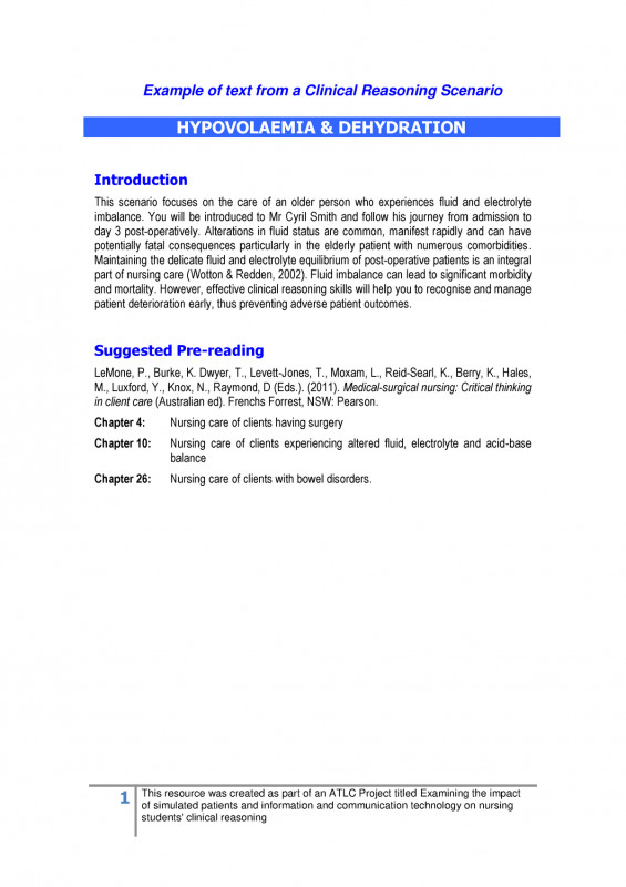Nurse Shift Report Sheet Template Awesome Clinical Reasoning Online Case Study Example Digm202 Studocu