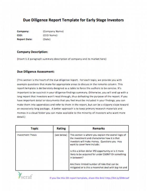 Nursing Report Sheet Template Unique Sample Tax Due Diligence Report New Sample Due Diligence Report