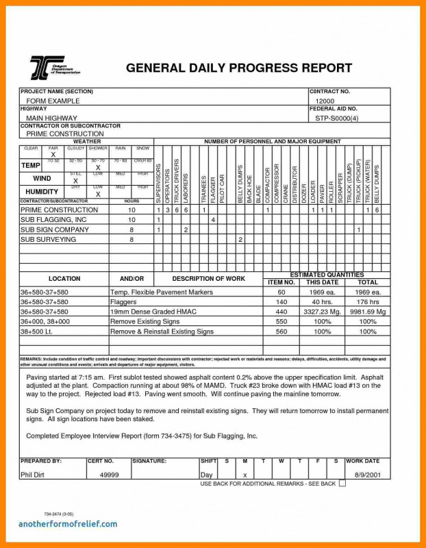 One Page Project Status Report Template New Daily Project Status Report Sample 13 Hello Marathi Letter Weekly