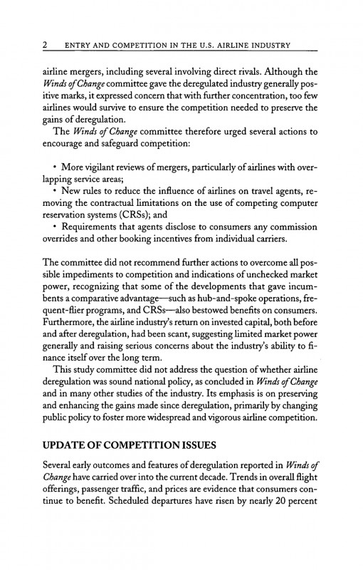 Paper Bag Book Report Template Unique 4 Executive Summary Entry And Competition In The U S Airline