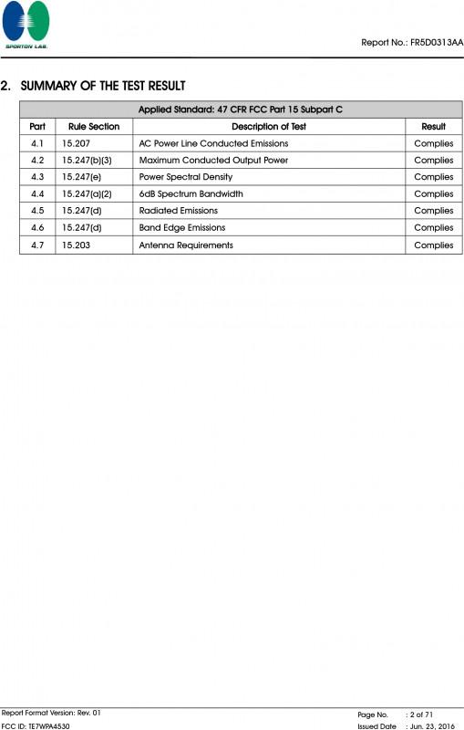 Part Inspection Report Template Unique Wpa4530 Ac750 Wi Fi Range Extenderav500 Powerline Edition Test