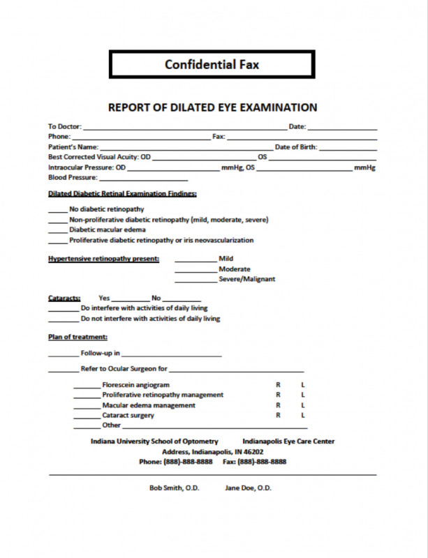 Patient Care Report Template Professional My Patient Has Diabetic Retinopathy now What