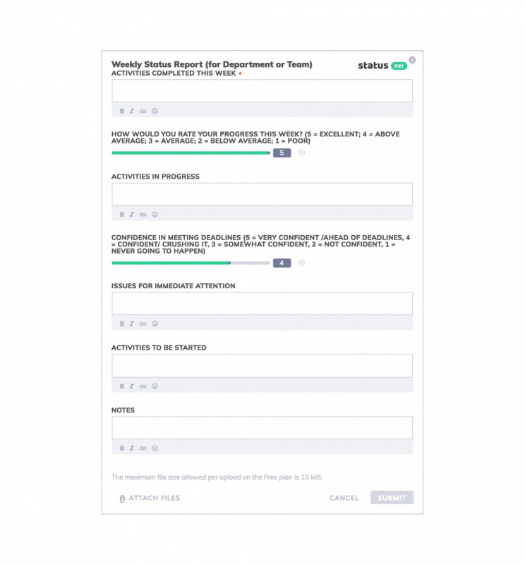 Project Management Status Report Template Professional 016 Weekly Status Report Template Ideas 20template format20ect
