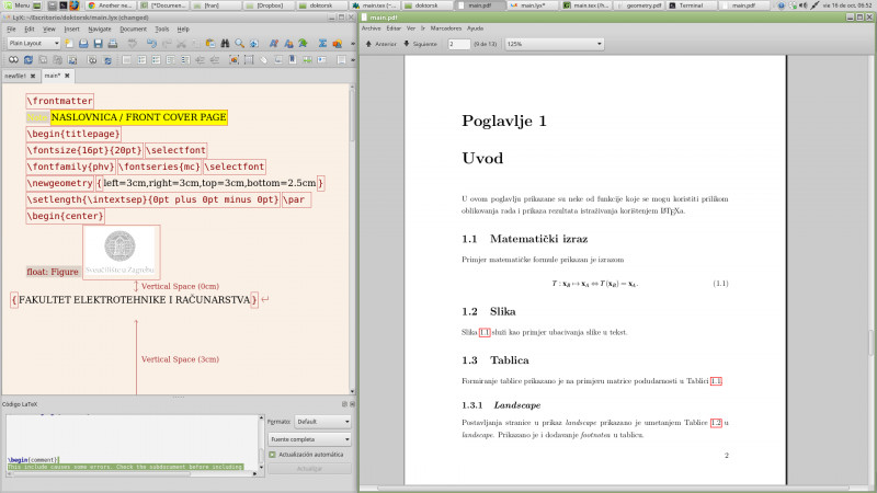 Project Report Template Latex New Another Newbie thesis Latex Template to Lyx Problem Tex Latex