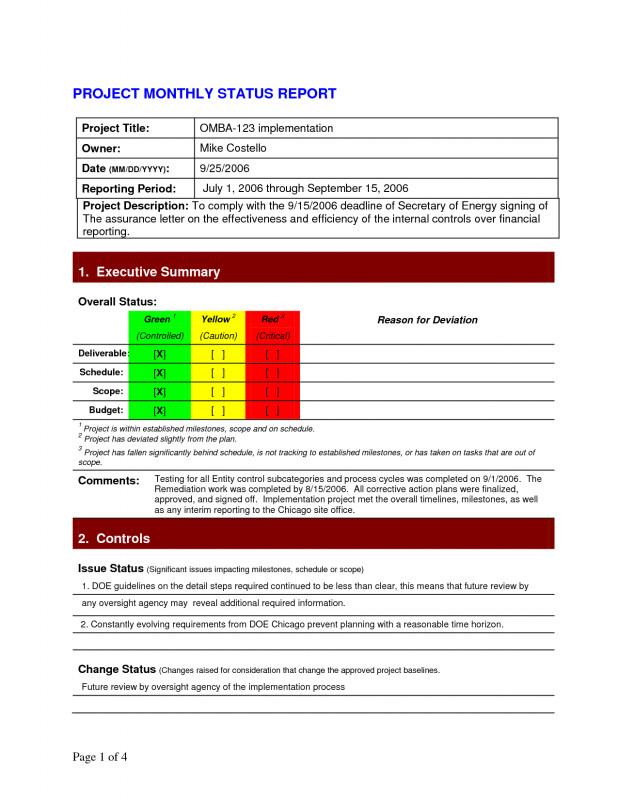 Project Status Report Email Template Unique Weekly Project Status Report Sample Excel Simple Template Smorad