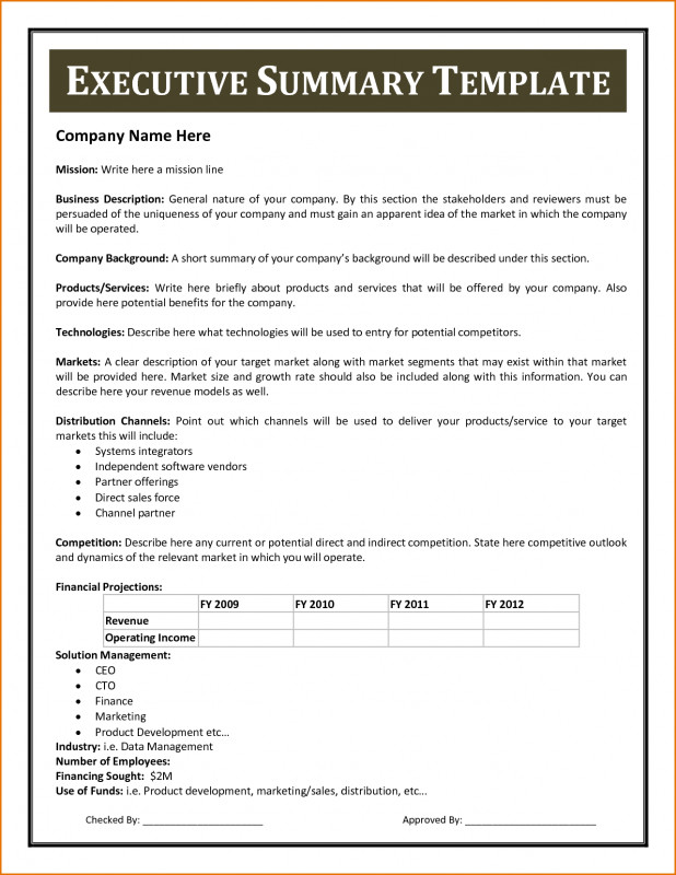 Report to Senior Management Template Awesome Executive Summary Word Template Resume Business Plan Stock Photos Hd