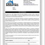 Roof Inspection Report Template