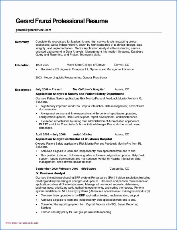 Safety Analysis Report Template New Data Analysis Resume Kizi Games Me