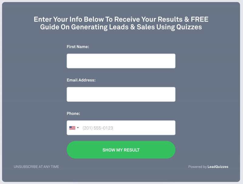 Sales Lead Report Template Unique How We Grew Our Marketing Agency to 720000 Selling Quizzes