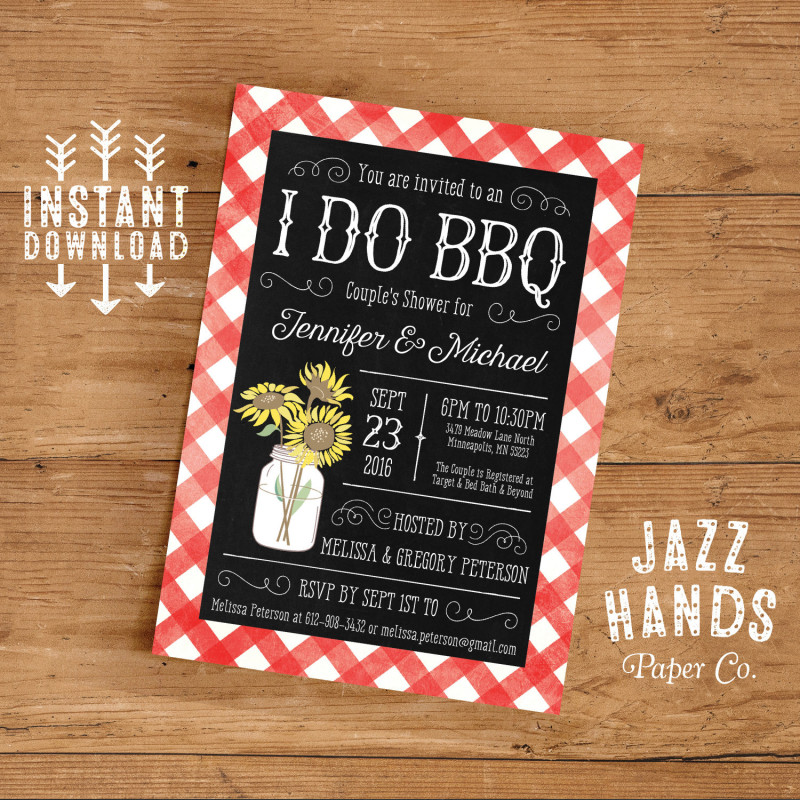 Sandwich Book Report Printable Template New Printable I Do Bbq Couples Shower Invitation Template Diy Etsy