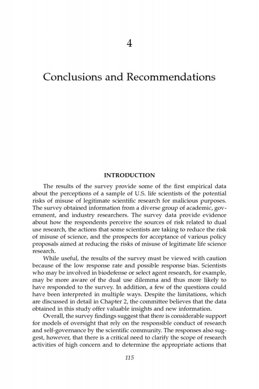 Science Experiment Report Template New 4 Conclusions and Recommendations A Survey Of attitudes and